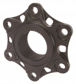 Superlite Hard Anodized Aluminum 6 Hole Sprocket Flange Cover