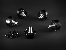 Titanium Stud Rubber Cush Dampers by AEM Factory