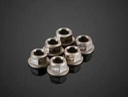 Rear Sprocket Carrier Flange Nut by AEM Factory
