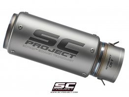 Replacement CR-T Exhaust Silencer for SC-Project 60mm Link Pipe