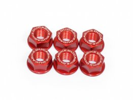 6 Piece Rear Sprocket Carrier Flange Nut Set by Ducabike