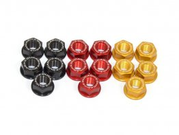 5 Piece Rear Sprocket Carrier Flange Nut Set by Ducabike