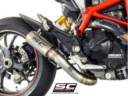 CR-T Titanium Exhaust with Valve Delete Link Pipe by SC-Project