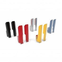 Aluminum Fork Guards by Ducabike