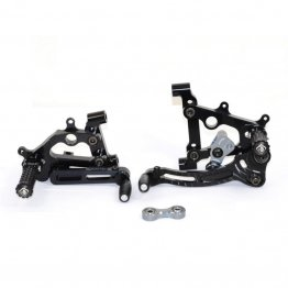 Type 3 Adjustable SBK Rearsets by Ducabike