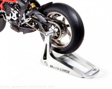 "Single Sided ""SBK"" Rear Stand by MotoCorse Ducati / Hypermotard 1100 EVO SP / 2010"