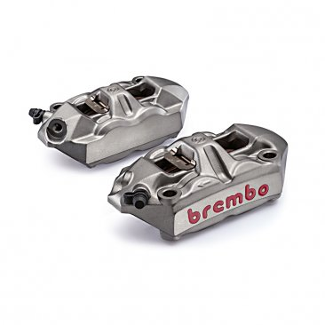 100 mm Radial M4 Cast Monoblock Caliper Kit by Brembo