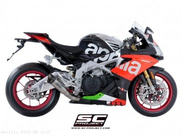 S1 Exhaust by SC-Project Aprilia / RSV4 RR / 2017