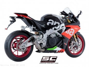 S1 Exhaust by SC-Project Aprilia / RSV4 RR / 2019