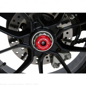 Rear Axle Sliders by Evotech Performance Ducati / Streetfighter 1098 S / 2012