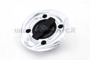 Rapid Release Billet Aluminum Gas Cap by Evotech Italy