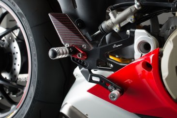 R Version Adjustable Track System Rearsets by Lightech
