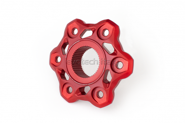 Rear Sprocket Carrier Flange by Evotech Italy