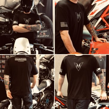 "Motovation Performance DRY-FIT Tee Shirt ""Limited Slate Edition"""