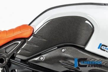 Carbon Fiber Side Tank Cover by Ilmberger Carbon BMW / R nineT Urban GS / 2019