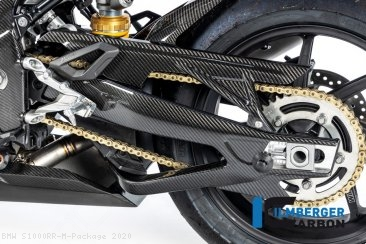 Carbon Fiber Left Side Swingarm Cover by Ilmberger Carbon BMW / S1000RR M Package / 2020