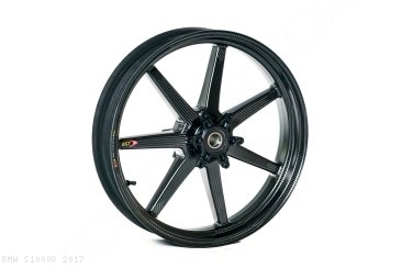 Black Mamba i-Series Carbon Fiber Wheel Set by BST BMW / S1000R / 2017