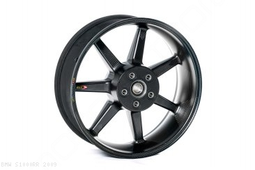 Black Mamba i-Series Carbon Fiber Wheel Set by BST BMW / S1000RR / 2009