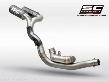 CR-T Exhaust by SC-Project Ducati / Panigale V4 S / 2018