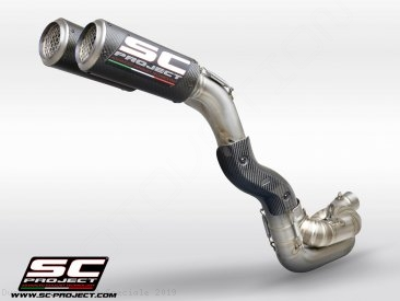CR-T Exhaust by SC-Project Ducati / Panigale V4 Speciale / 2019