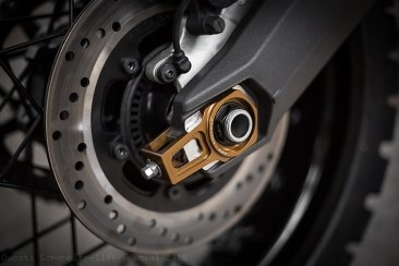 """PRECISION"" Chain Adjuster Set by AEM Factory Ducati / Scrambler 1100 Special / 2018"