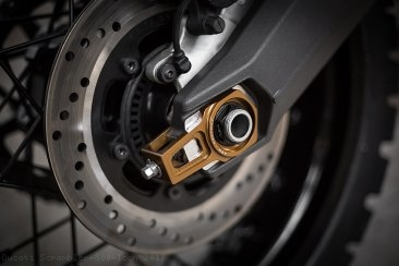"""PRECISION"" Chain Adjuster Set by AEM Factory Ducati / Scrambler 800 Icon / 2017"