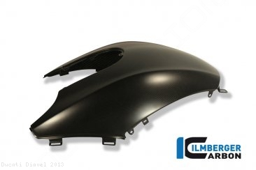Carbon Fiber Tank Cover by Ilmberger Carbon Ducati / Diavel / 2013