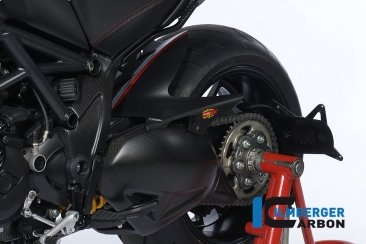 Carbon Fiber Rear Hugger by Ilmberger Carbon Ducati / Diavel / 2010