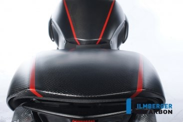 Carbon Fiber Passenger Seat Cover by Ilmberger Carbon Ducati / Diavel / 2017