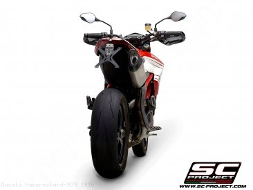 SC1-R Exhaust by SC-Project Ducati / Hypermotard 939 / 2016
