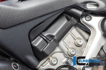 Carbon Fiber Right Side Cylinder Head Cover by Ilmberger Carbon Ducati / Panigale V4 S / 2018