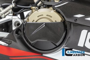 Carbon Fiber Clutch Case Cover by Ilmberger Carbon Ducati / Panigale V4 S / 2018