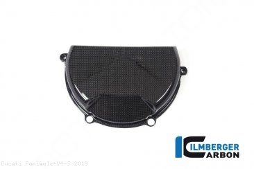 Carbon Fiber Clutch Case Cover by Ilmberger Carbon Ducati / Panigale V4 S / 2019
