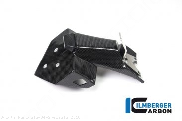 Carbon Fiber License Plate Holder by Ilmberger Carbon Ducati / Panigale V4 Speciale / 2018