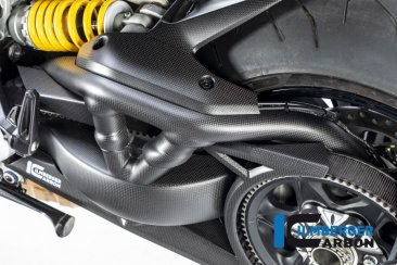 Carbon Fiber Swingarm Cover by Ilmberger Carbon