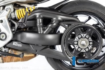Carbon Fiber Belt Cover by Ilmberger Carbon Ducati / XDiavel / 2019