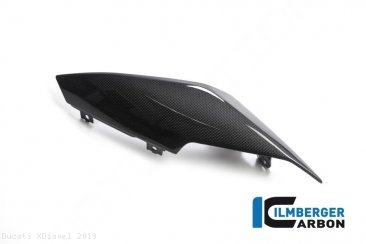 Carbon Fiber Left Tail Fairing by Ilmberger Carbon Ducati / XDiavel / 2019