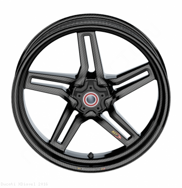 Carbon Fiber Rapid Tek Wheel SET by BST Ducati / XDiavel / 2016
