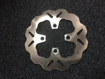 Standard Solid Mount Wave Rear Brake Rotor by Galfer