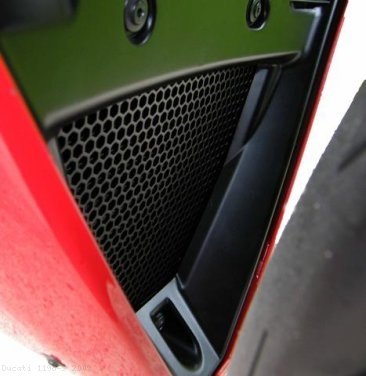 Oil Cooler Guard by Evotech Performance Ducati / 1198 S / 2009
