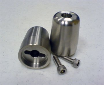 Motovation Accessories Bar End Weights