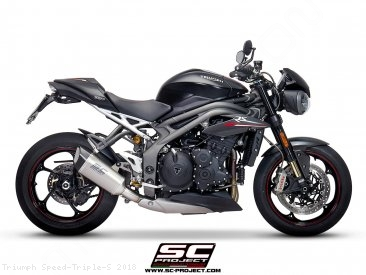 SC1-R Exhaust by SC-Project Triumph / Speed Triple S / 2018