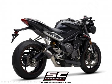 CR-T Exhaust by SC-Project Triumph / Street Triple RS 765 / 2019