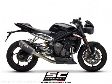 SC1-R Exhaust by SC-Project Triumph / Street Triple RS 765 / 2017
