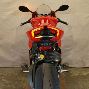 Fender Eliminator Kit with Integrated Turn Signals by NRC