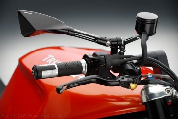 Ride by Wire LUX Billet Aluminum Grips by Rizoma Ducati / 1199 Panigale / 2012
