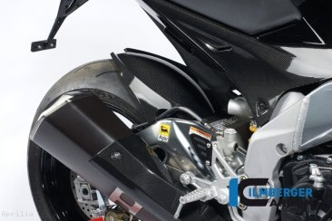 Carbon Fiber Rear Hugger by Ilmberger Carbon Aprilia / Tuono V4 1100 Factory / 2019
