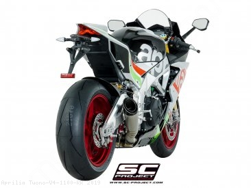 S1 Exhaust by SC-Project Aprilia / Tuono V4 1100 RR / 2019