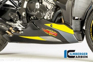 Carbon Fiber Bellypan by Ilmberger Carbon BMW / S1000XR / 2015