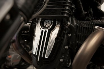 Breast Plate Engine Cover by Roland Sands